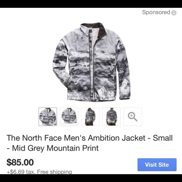 39385a2e3 THE NORTH FACE AMBITION JACKET NWT